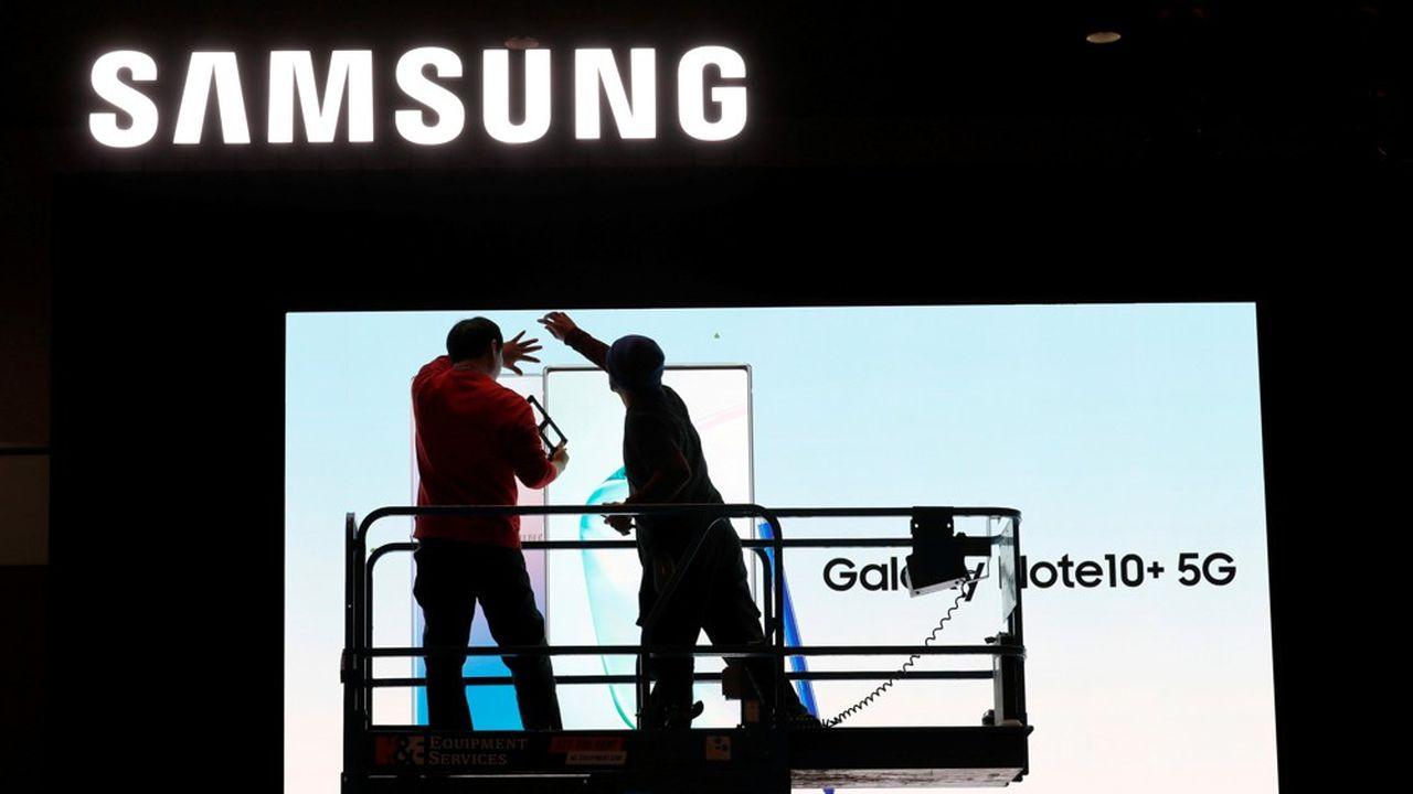 Samsung a aujourd'hui une capitalisation boursière de 306milliards de dollars.