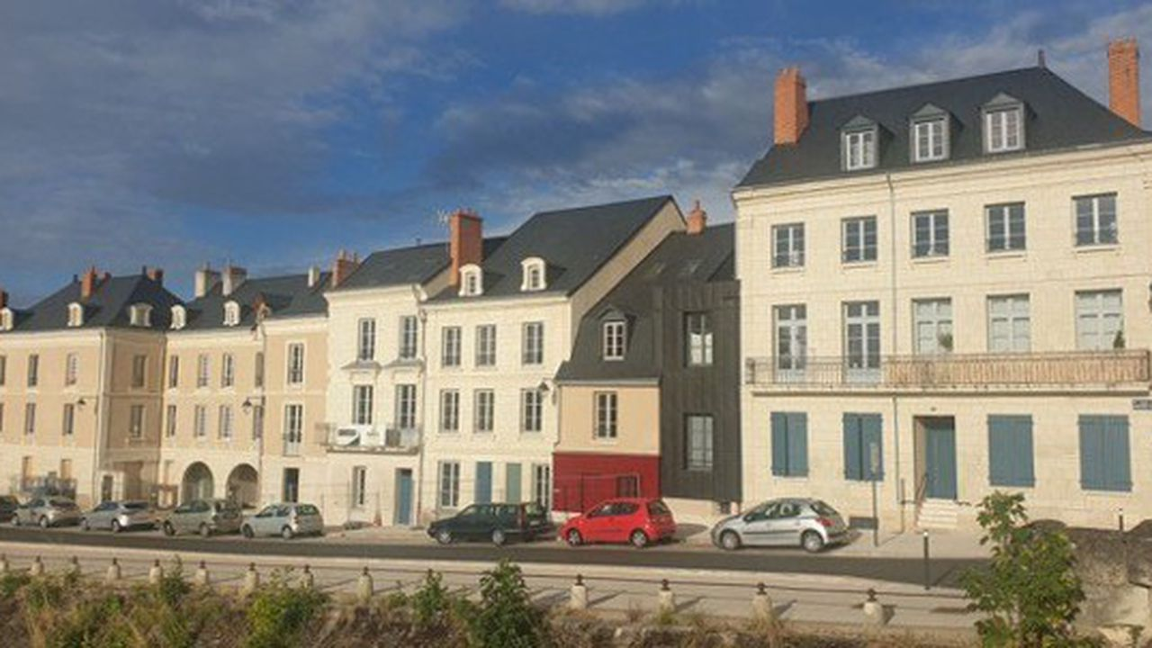 A Châtellerault sur l'Îlot des Cordeliers, un programme Malraux de Buildinvest a été récemment livré.