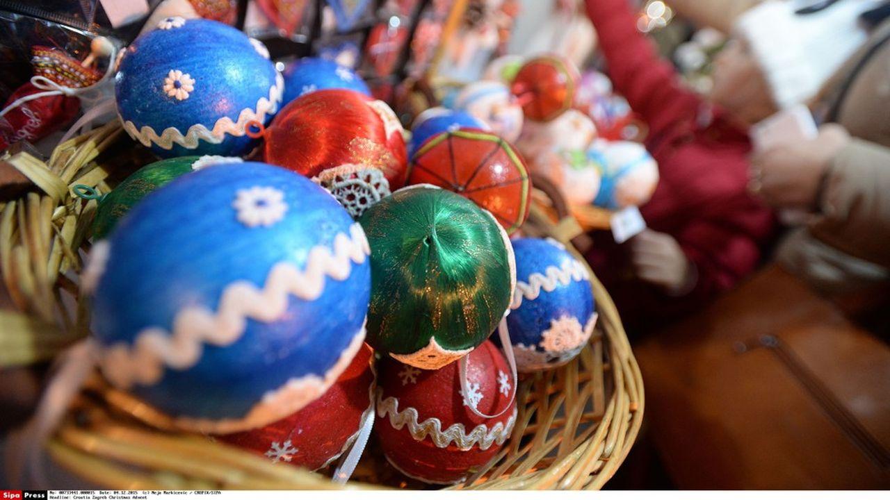 Le marché de Noël existe depuis 2008 à Annecy.