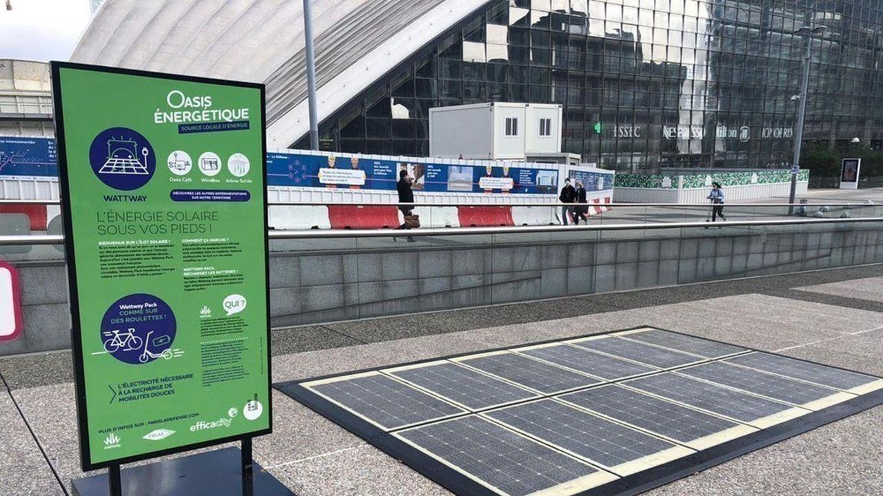 Quatre installations d'énergie renouvelable sont en phase d'expérimentation pour 6 à 9 mois.