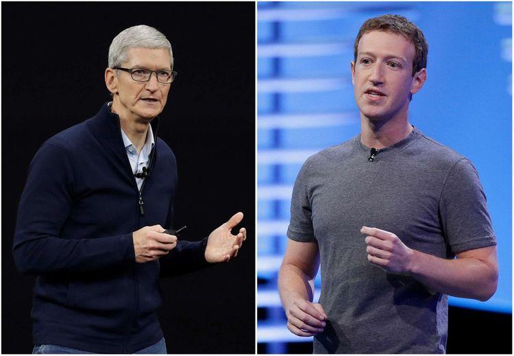 Tim Cook vs Mark Zuckerberg