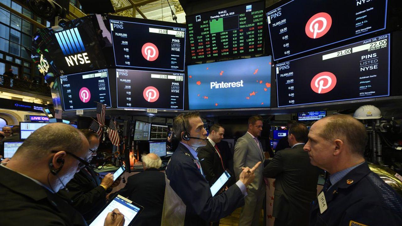 Pinterest a aujourd'hui une capitalisation boursière de près de 38milliards de dollars