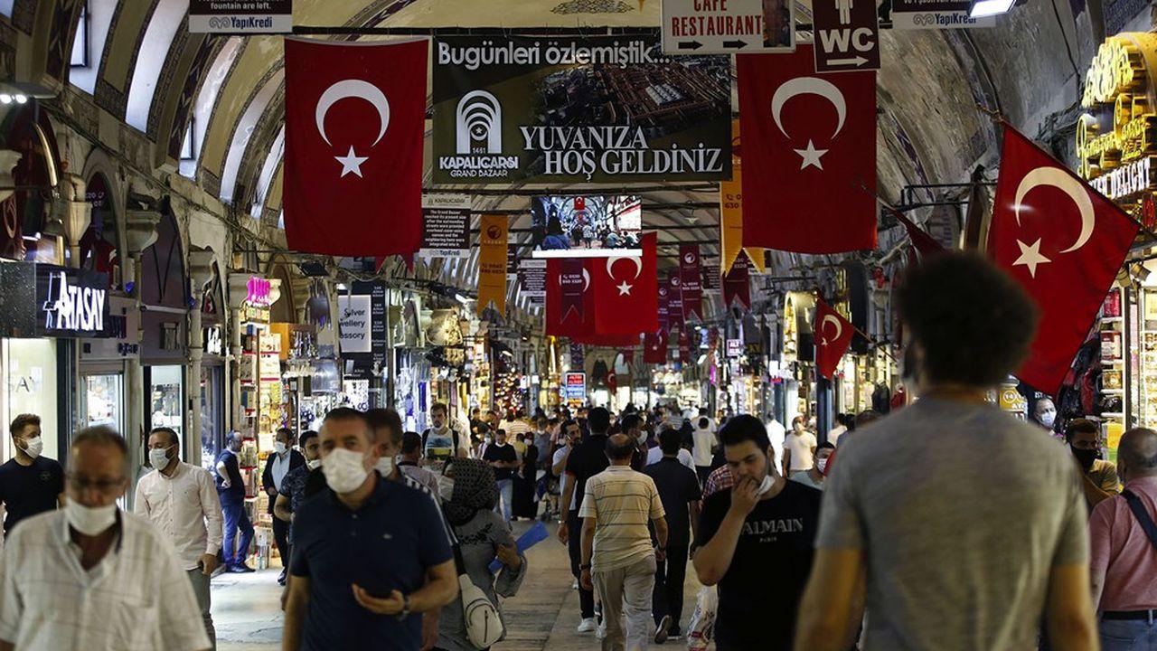 L'économie turque et son commerce (Bazar d'Istanbul) redoutent une nouvelle crise des changes