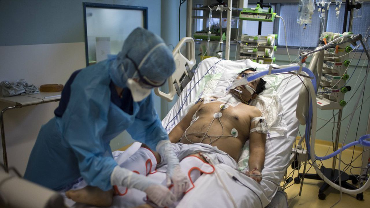 Certains hôpitaux de l'UE sont déjà débordés par les patients Covid qu'il faut envoyer en réanimation dans les cas graves.