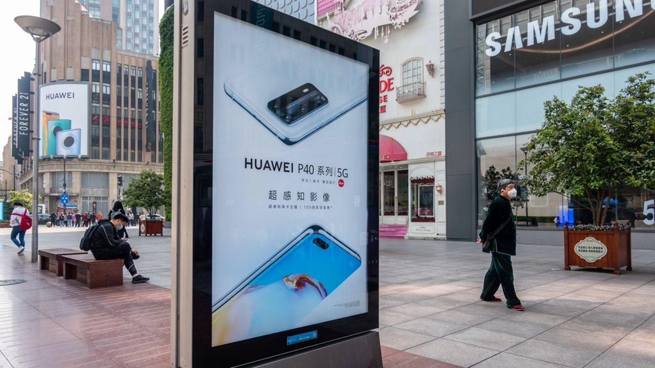 Huawei a vendu au troisième trimestre 51,7millions de téléphones, soit près d'un quart de moins qu'il y a un an.