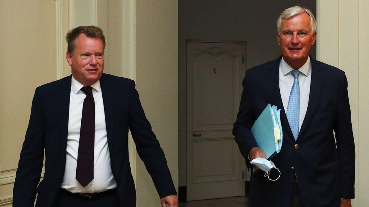 Les négociateurs britannique David Frost et européen Michel Barnier doivent poursuivre les négociations à Bruxelles en ce début de semaine.