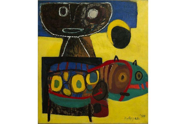 «Le Petit Bonhomme du désert», de Karel Appel, 1950.