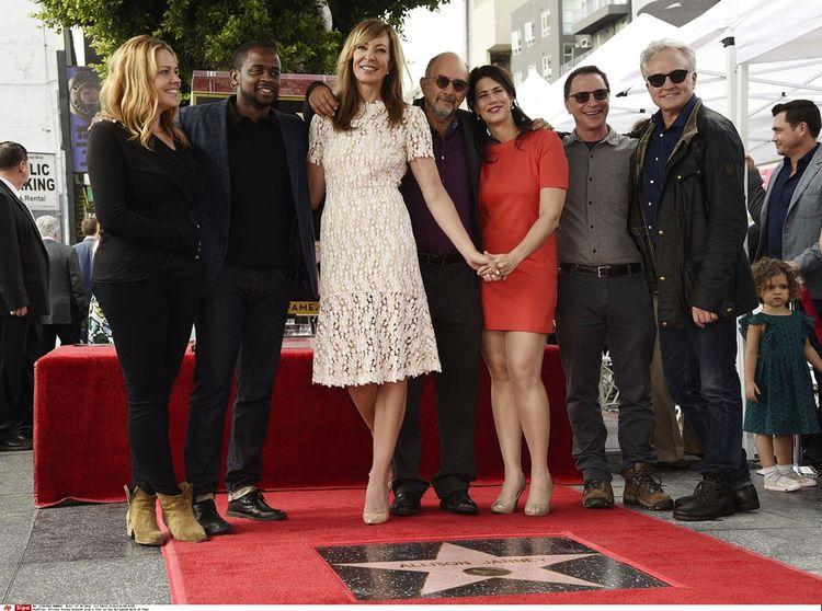 L'équipe de la série télévisée « The West Wing » à Los Angeles.