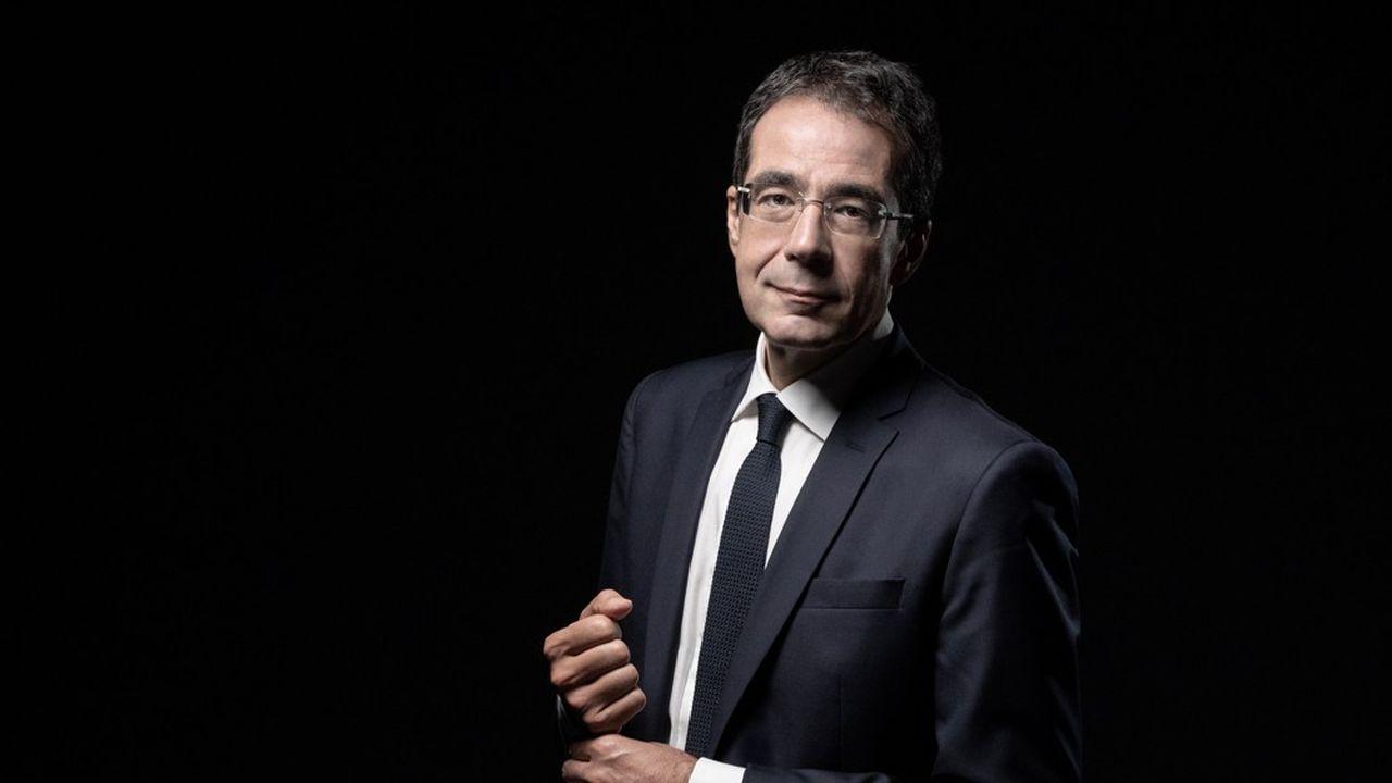 Darius Rochebin est l'une des têtes d'affiche de la rentrée de LCI.