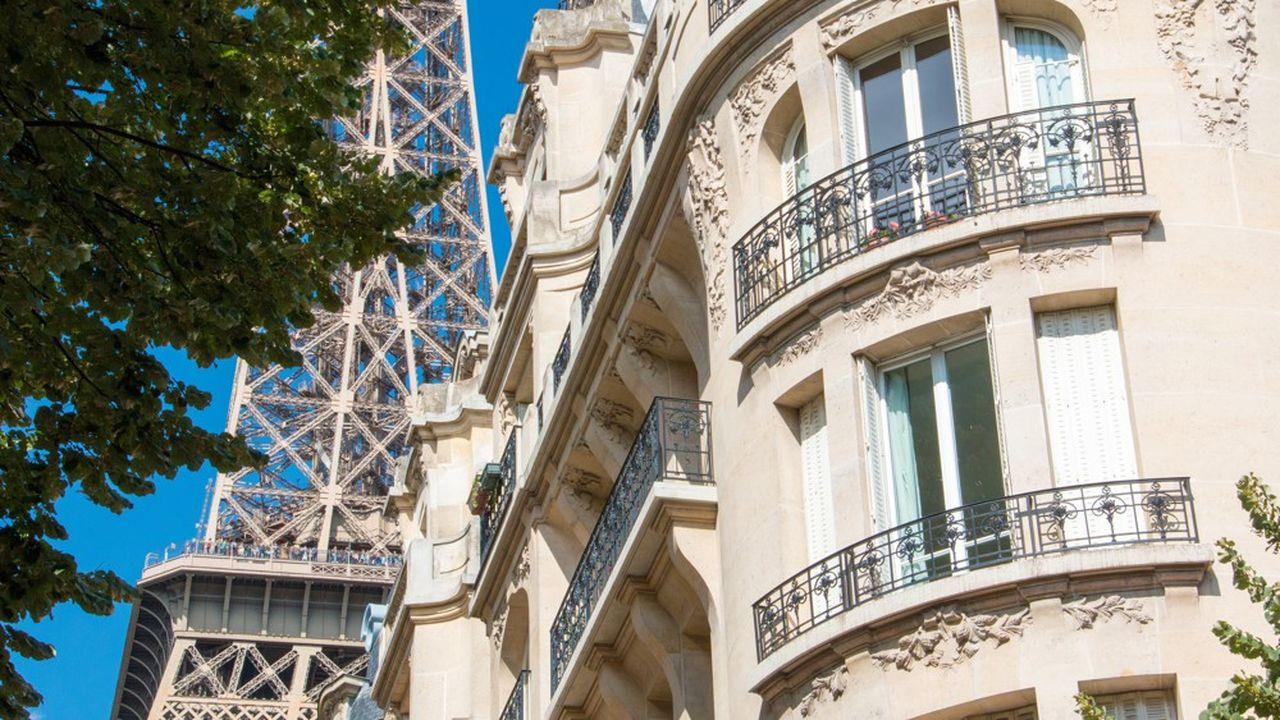 Aucun arrondissement parisien ou presque n'est épargné par la baisse.