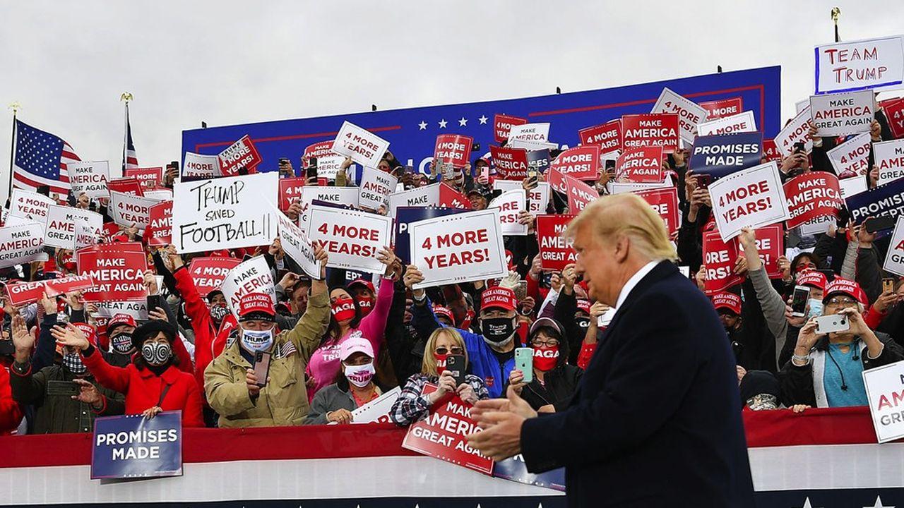 La priorité de Donald Trump, s'il est réélu, sera de ramener l'emploi à son niveau d'avant la pandémie.