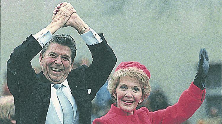 Ronald Reagan, élu le 4 novembre 1980, réélu le 6 novembre 1984