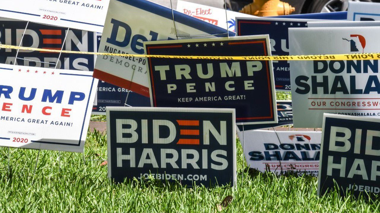 Le scrutin présidentiel américain aura lieu mardi 3novembre.