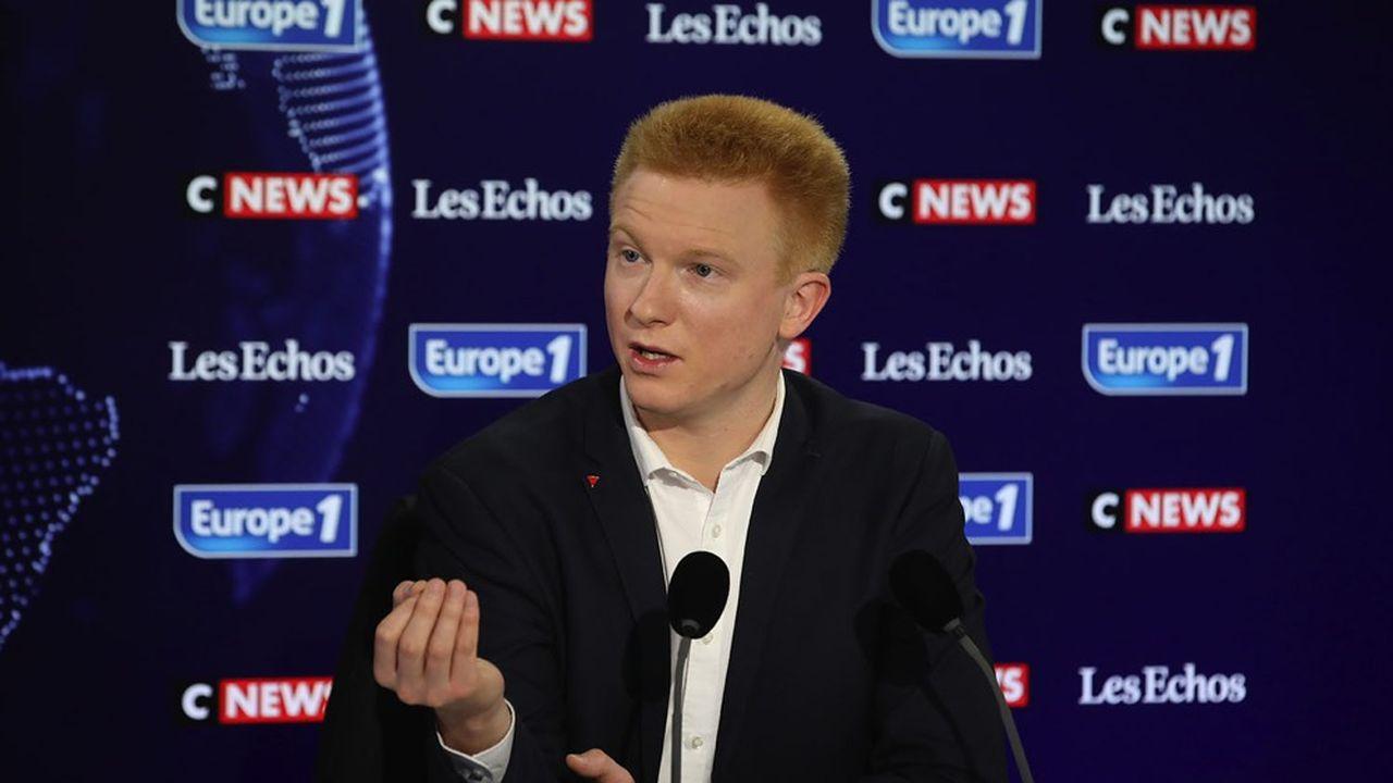 Adrien Quatennens est convaincu que Jean-Luc Mélenchon est « le bon profil » pour l'élection présidentielle de 2022.