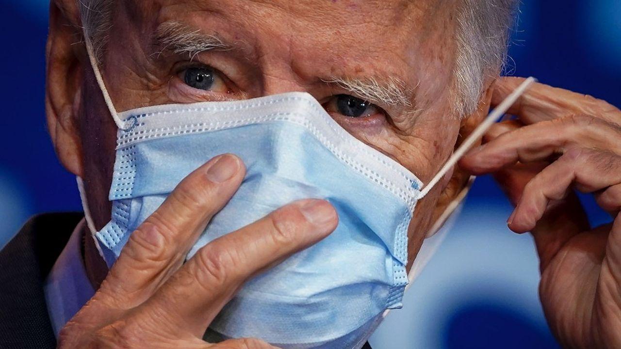 Le candidat démocrate a promis, s'il était élu, de faire confiance à la science pour gérer la crise du coronavirus.