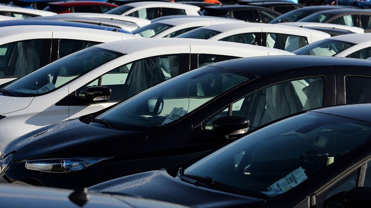 Les ventes de voitures particulières neuves ont baissé de 27% sur 10 mois 2020, par rapport à la même période de 2019.