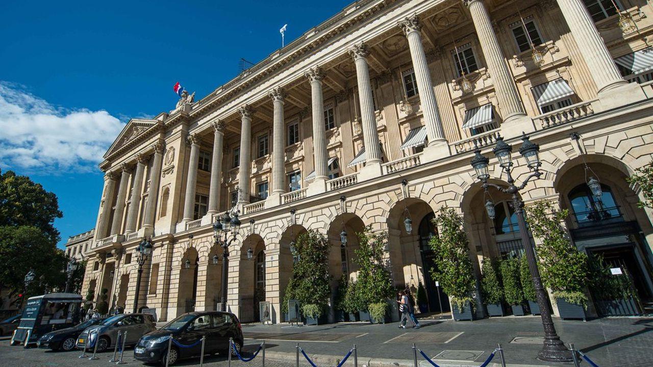 L'Hôtel de Crillon, qui avait rouvert le 24août, est à nouveau fermé. Et certains établissements de prestige parisiens n'ont pas repris leur activité depuis mars.