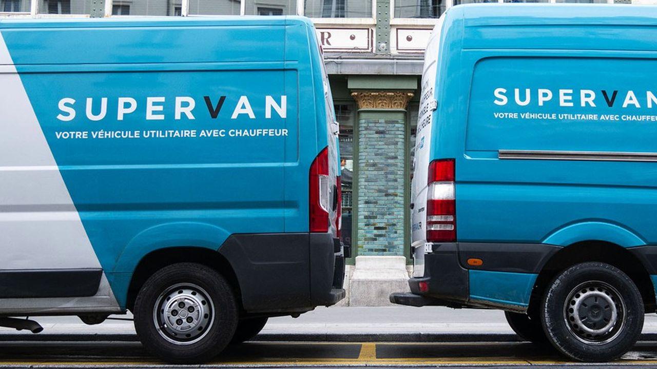 Supervan assure une livraison en deux heures avec des véhicules légers.
