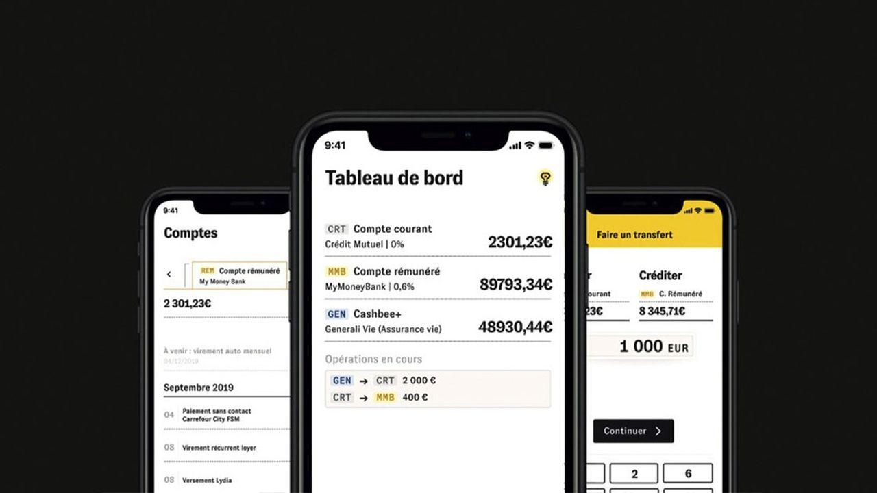 Cashbee guide le parcours mobile de l'épargnant pour l'aider à piloter, simplement, son contrat d'assurance-vie depuis son smartphone.