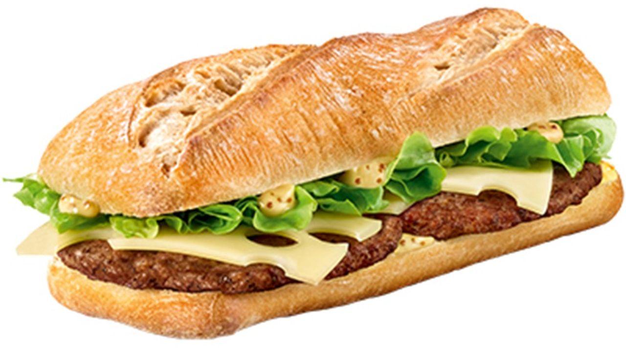 Le McBaguette commence à arriver ce mardi pour être proposé dans tous les restaurants d'ici au 10novembre.