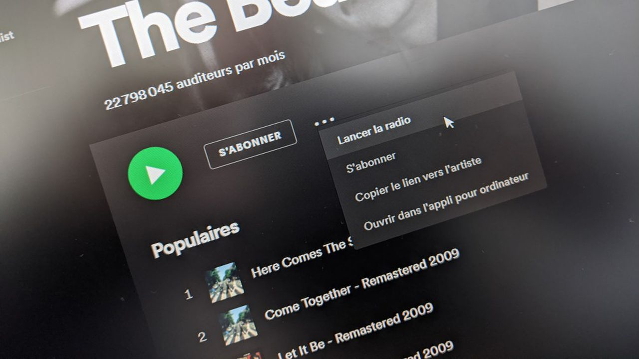 Seules les playlists personnalisées «Radio» et «Autoplay» sont concernées, pour l'instant.