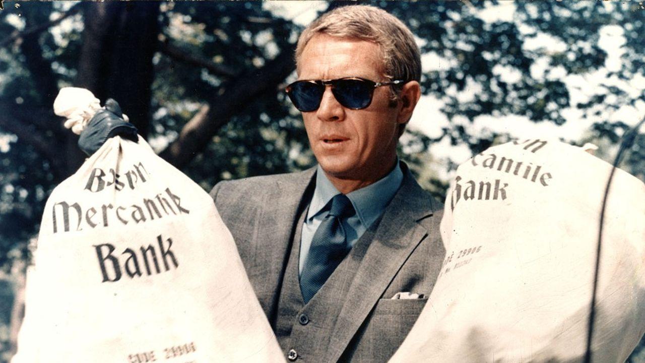 Steve McQueen dans «L'Affaire Thomas Crown» (1968) deNorman Jewison.