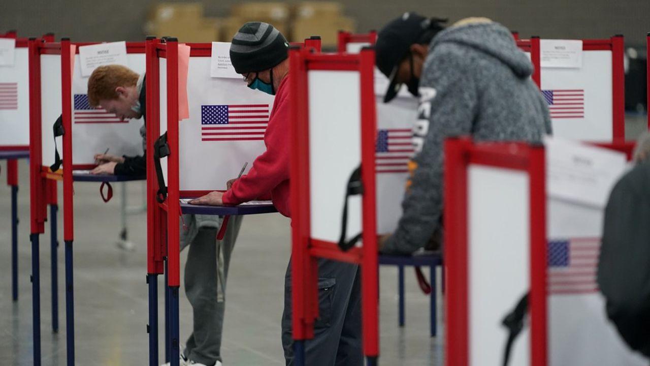 Bureau de vote à Louisville dans le Kentucky, le 3novembre 2020.