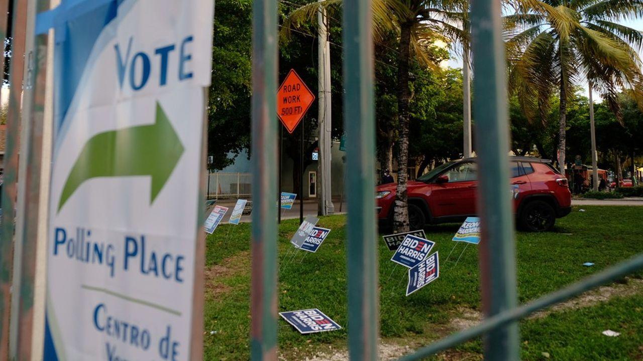 La Floride a massivement voté par anticipation, avec 9millions de votes avant le 3novembre, soit 95% de sa participation de 2016.