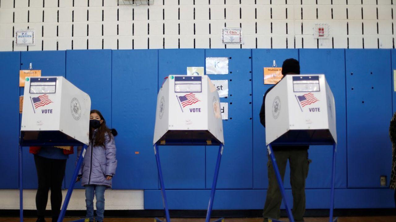 Beaucoup d'Américains avaient anticipé leur vote avant la journée de mardi.