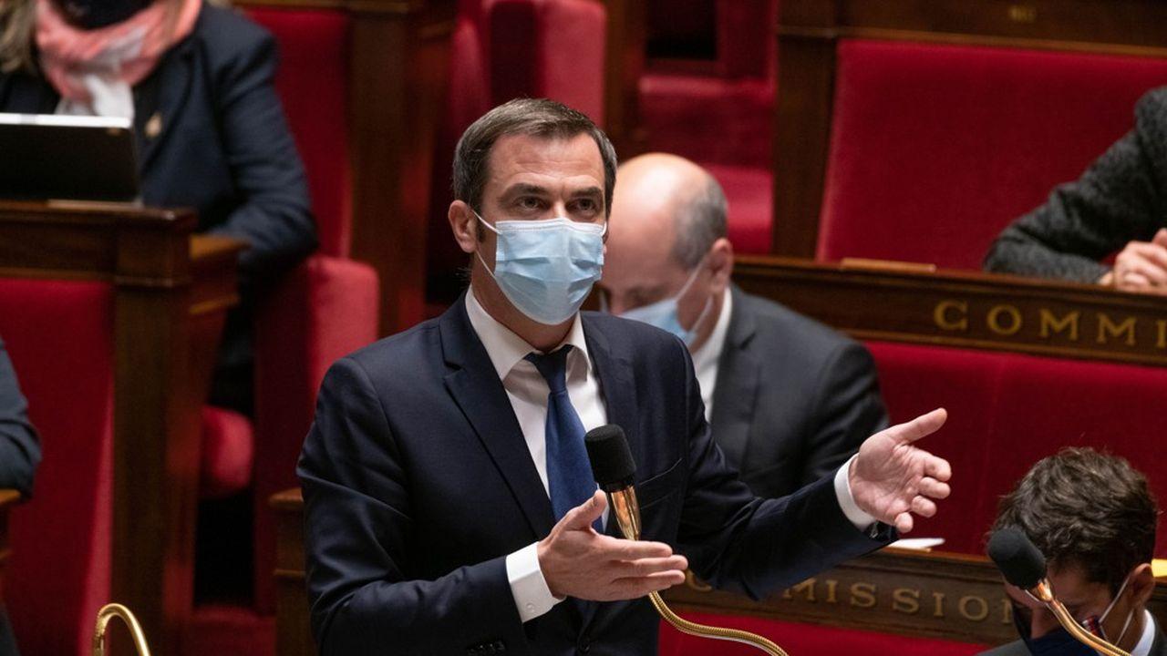Le ministre de la Santé Olivier Véran a fustigé l'attitude des députés LR.