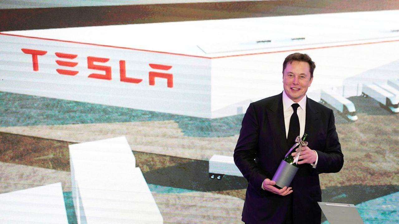 Sur les neuf premiers mois de l'année 2020, la société dirigée par Elon Musk a perçu 1,18milliard de dollars grâce à ses crédits CO2.