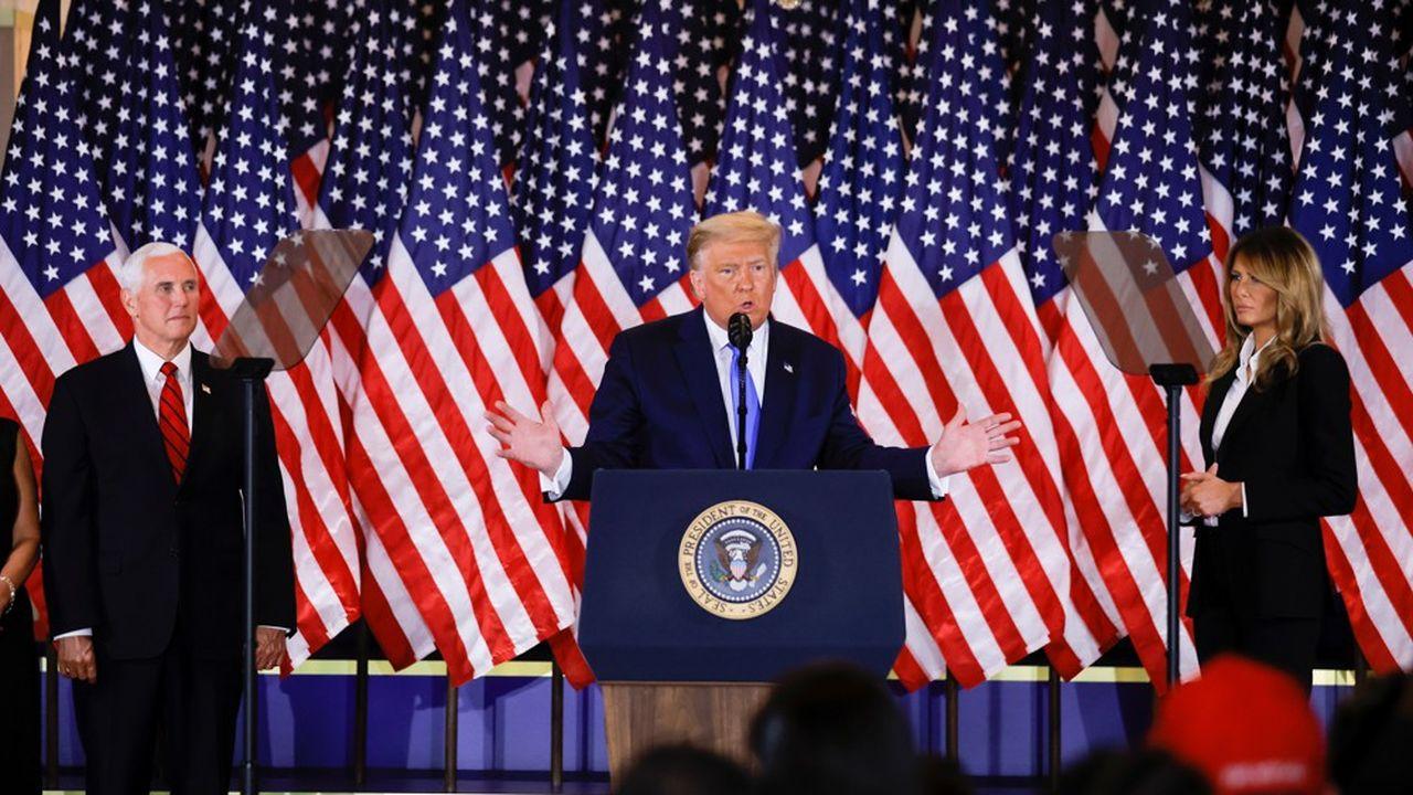 Trump proclame sa victoire