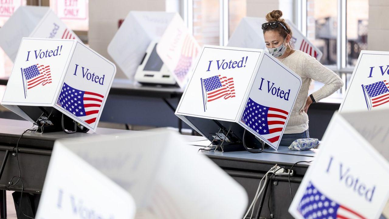 Cette année le décompte est compliqué parce qu'un nombre record de 100millions de votes ont été exprimés par anticipation