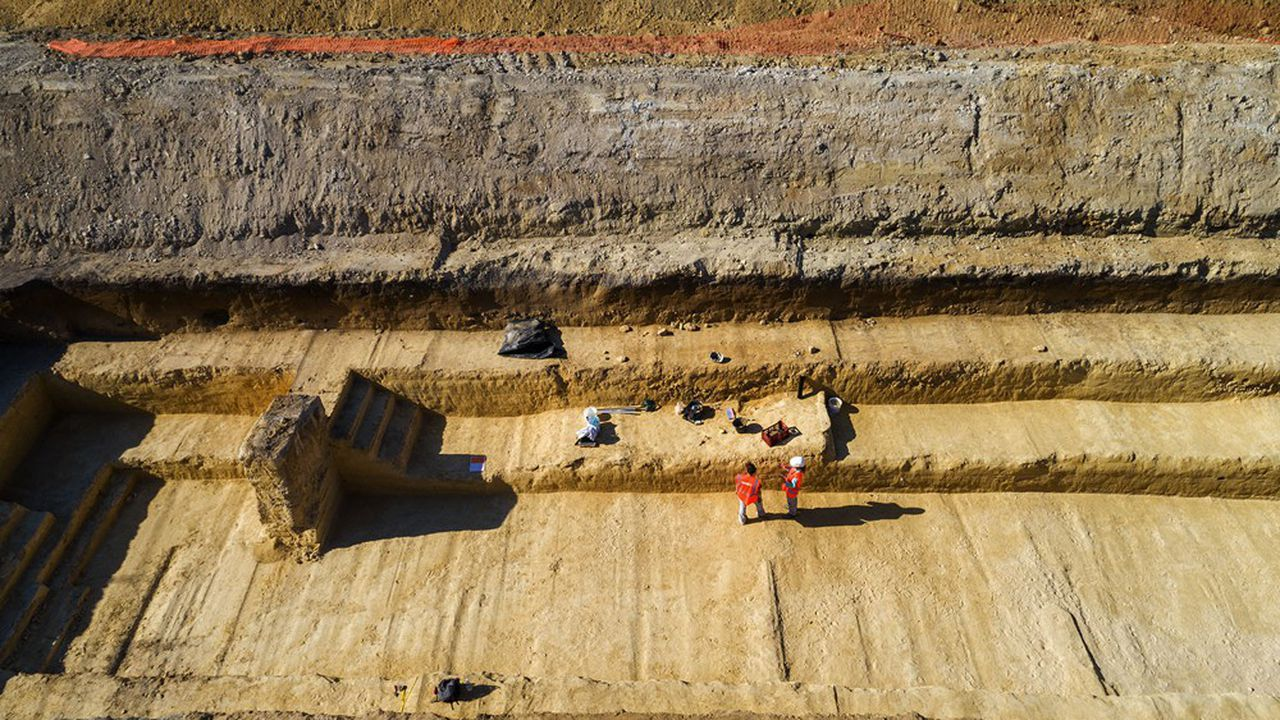 Les dernières grandes découvertes sur ce site remontent à 1870.