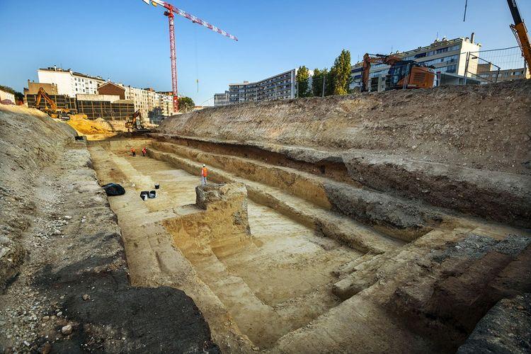 Les fouilles ont duré cinq semaines, du 24août au 2octobre 2020.