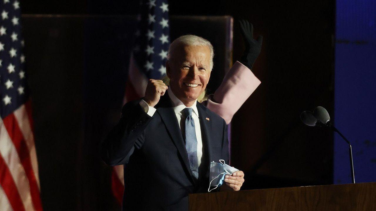 Mercredi, les plateformes de paris en ligne donnaient entre 66% et 80% de chances de victoire pour Joe Biden.