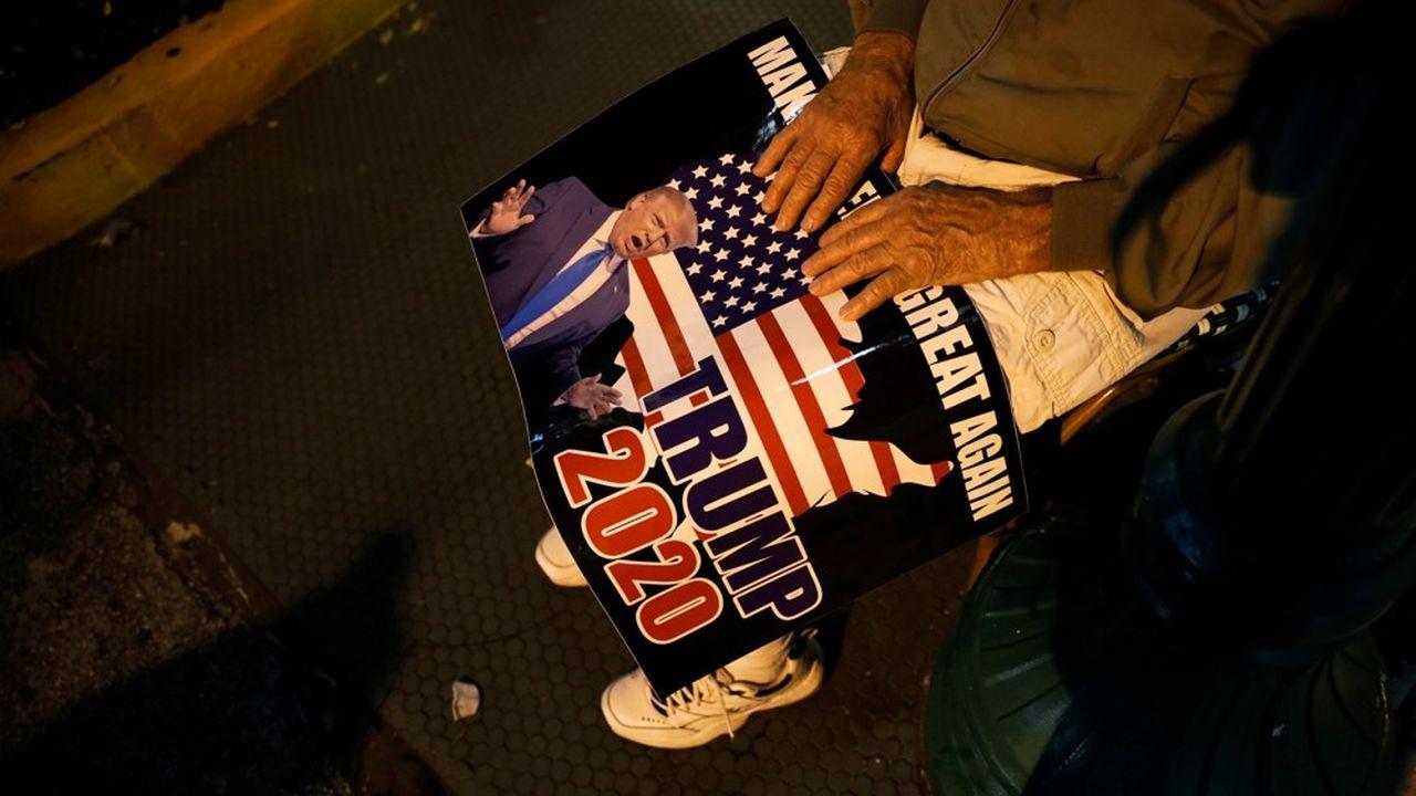 En Floride, Donald Trump a remporté les 29 voix du collège électoral avec une confortable avance.