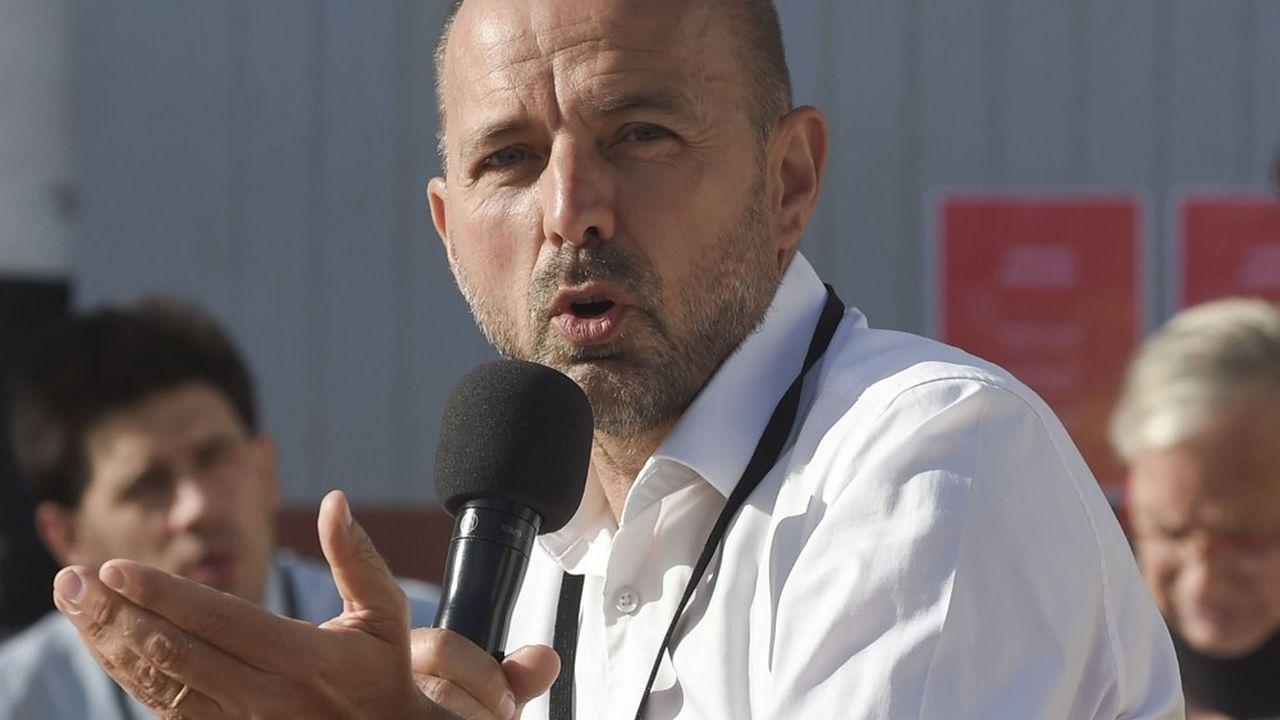 Jean François Débat, maire de Bourg-en-Bresse et président délégué de Villes de France.