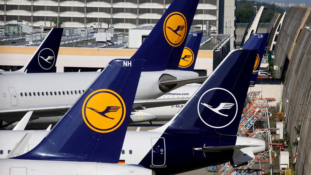 Cet hiver, 125 avions du groupe Lufthansa resteront encore cloués au sol.
