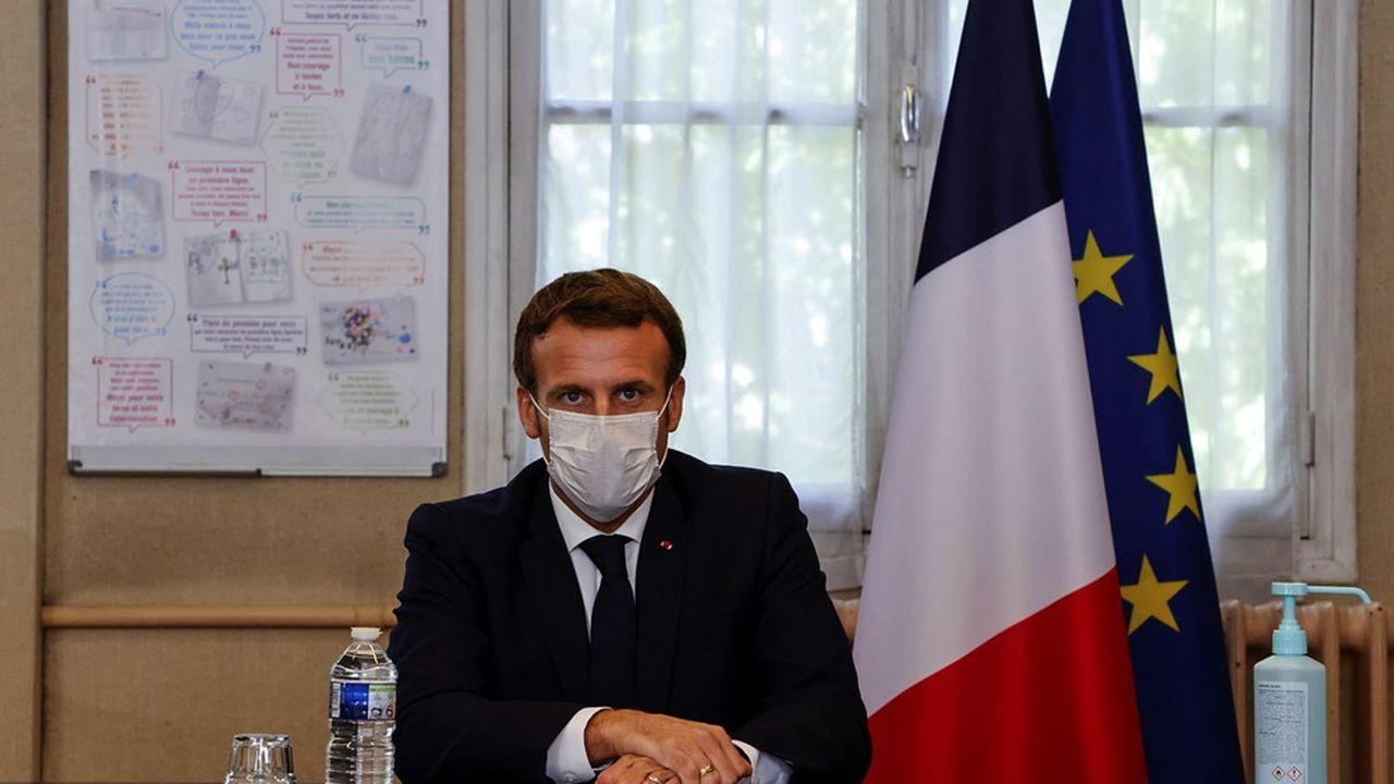 Emmanuel Macron a publié une tribune dans le «FT» pour justifier sa politique contre l'islamisme radical.