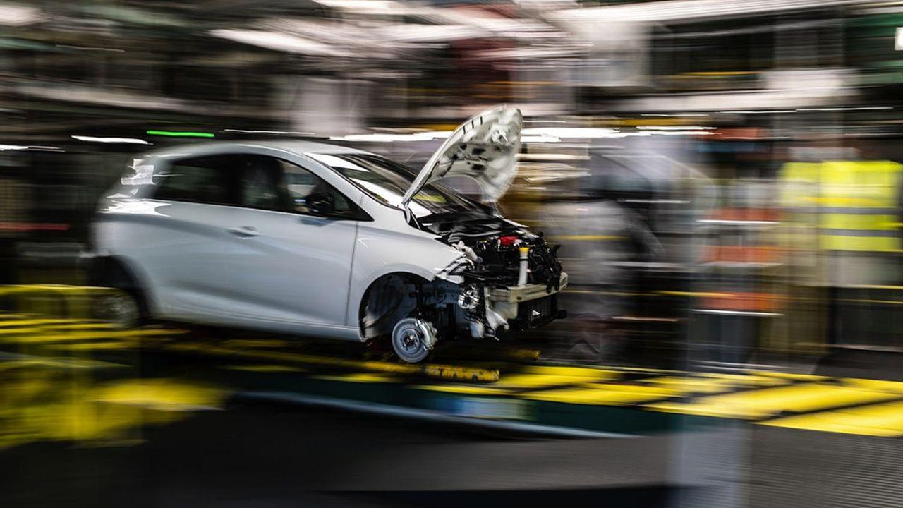 Le secteur automobile a l'intention de baisser ses investissements de 10% en 2021.
