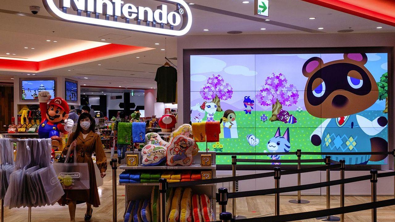La Switch console continue aussi d'être portée par son hit Animal Crossing: New Horizons, l'une des grandes franchises de Nintendo, dont il a encore vendu 3.64millions d'exemplaires sur le seul mois de septembre