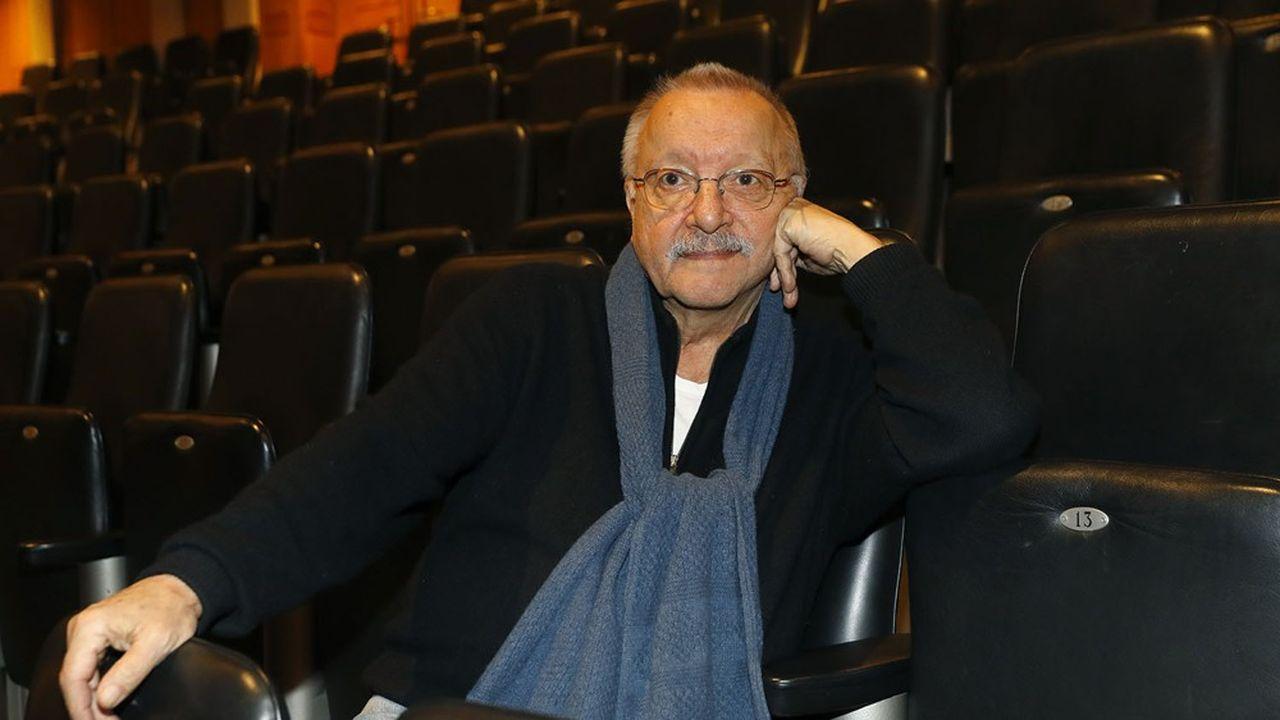 Jean-Pierre Vincent en novembre2016 au Théâtre des Abbesses à Paris, présentant sa mise en scène d'«Iphigénie» en Tauride de Goethe