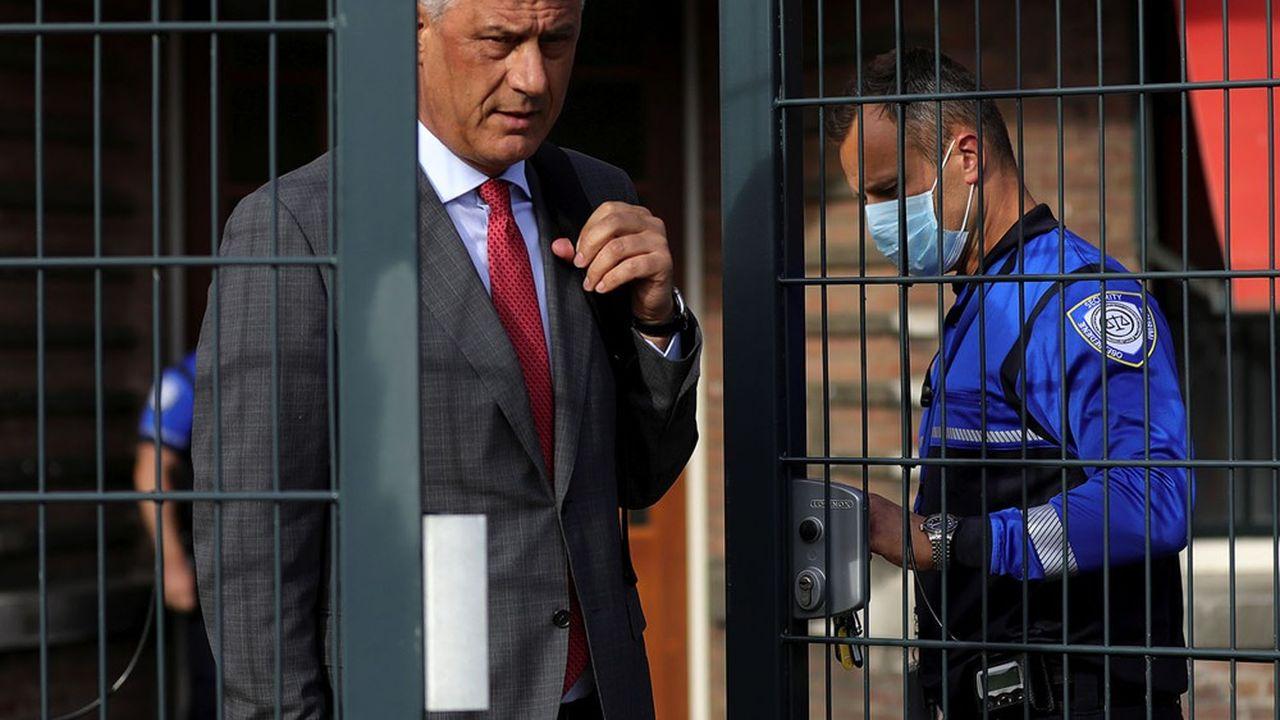 Hashim Thaçi, qui a toujours nié ces accusations, est l'un des hommes forts de la jeune histoire kosovare.