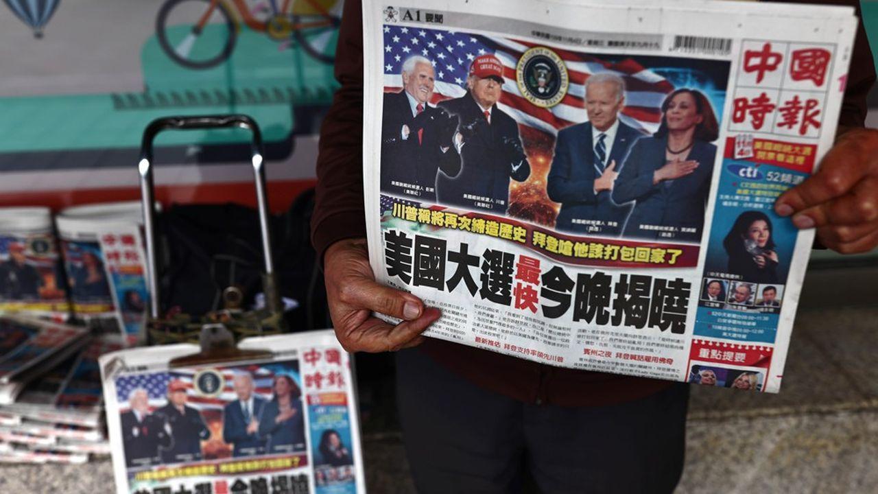 Les journaux du monde entier dédient leur Une à la présidentielle qui oppose Donald Trump et Joe Biden.