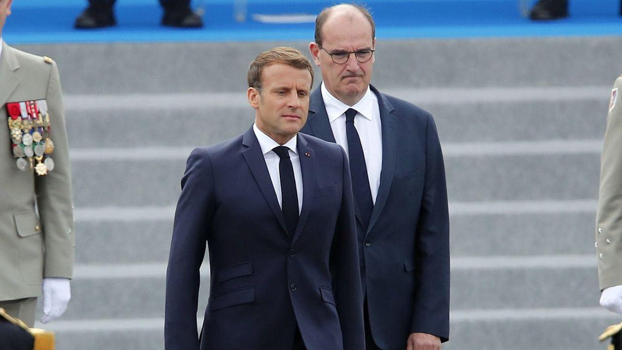 Le Premier ministre, Jean Castex, voit sa cote de confiance baisser pour le quatrième mois consécutif.