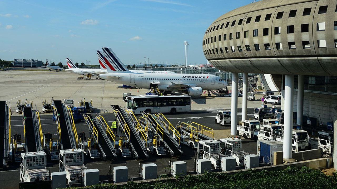 Le trafic des aéroports parisiens a replongé depuis la fin de l'été.