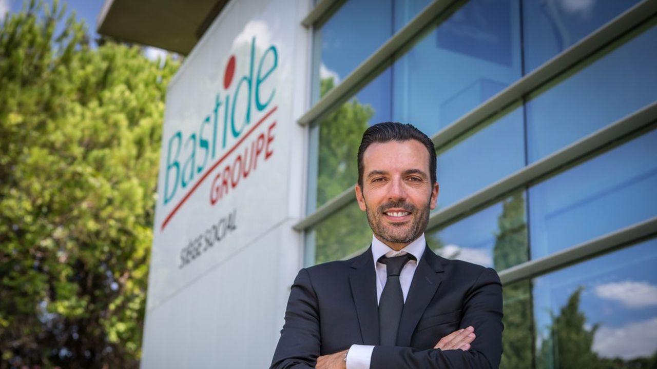 Vincent Bastide, directeur général du groupe éponyme.