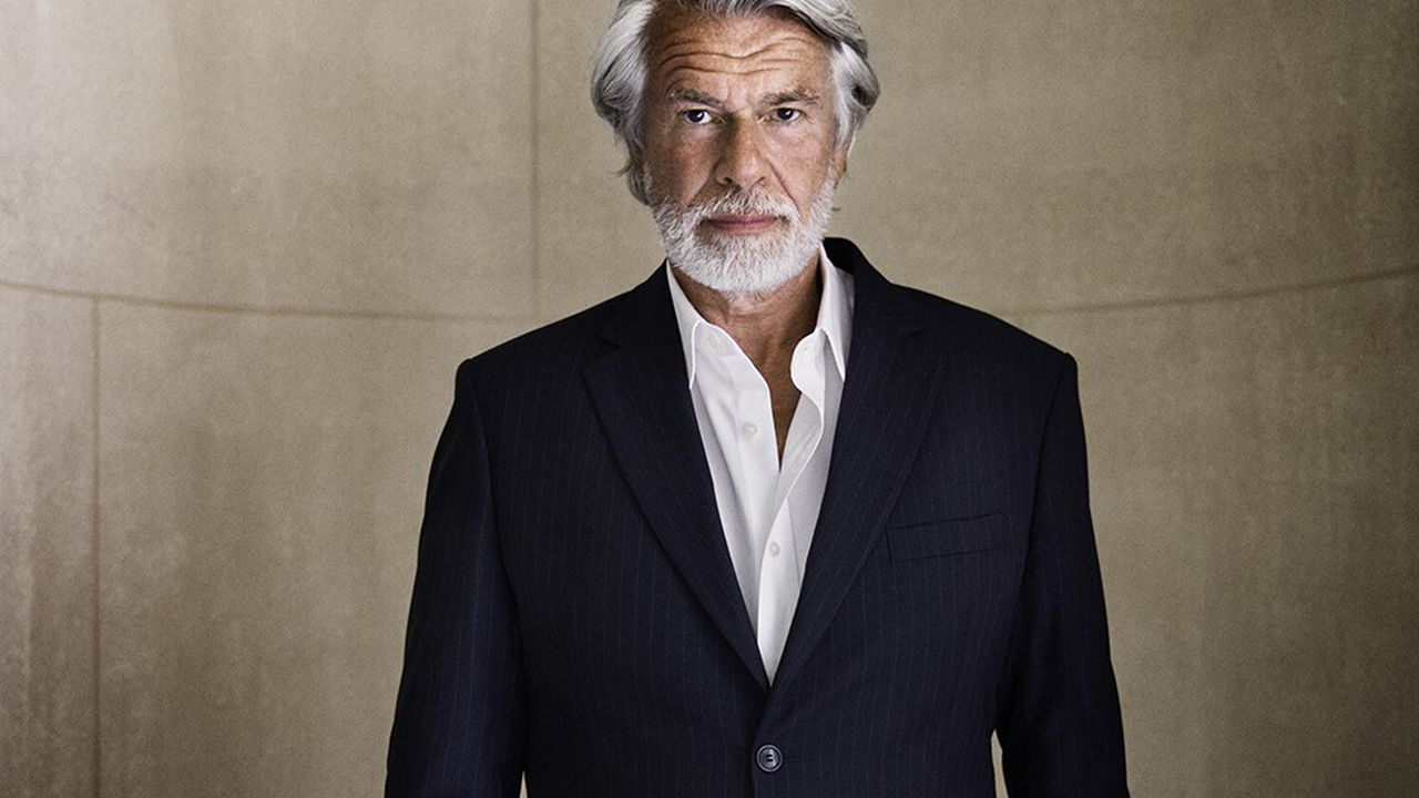 Chris Dercon, le directeur du Grand Palais et président de la Réunion des musées nationaux.