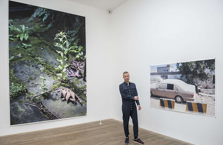 Wolfgang Tillmans, avec qui Chris Dercon a fait sa dernière exposition comme directeur artistique de la Tate Modern en 2017.